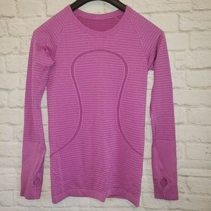 Lululemon Sweater Logo Purple Size 6